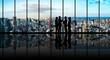 Leinwanddruck Bild - ビジネスと都市