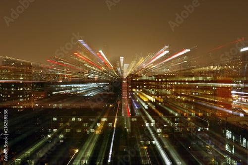 Plexiglas Peking Optic effect ,building of Beijing china