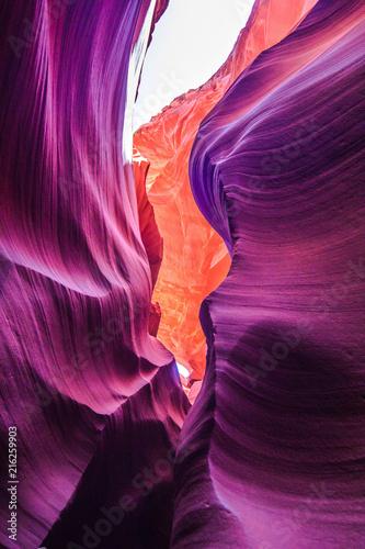 Foto Spatwand Arizona Antelope canyon, Arizona