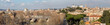 Quadro Rome, a panorama from the Aventine Hill, a view of the Tiber, the Gianiculum Hill, the Garibaldi Monument, Trastevere, Victor Emmanuel, the Capitol Hill, the Vatican, St. Peter's Cathedral (part 2)
