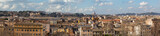 Rome, a panorama from the Aventine Hill, a view of the Tiber, the Gianiculum Hill, the Garibaldi Monument, Trastevere, Victor Emmanuel, the Capitol Hill, the Vatican, St. Peter's Cathedral (part 1)