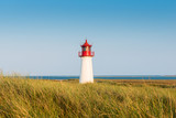 Lightouse on dune on Sylt island. Germany. - 216271780
