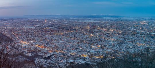 Sapporo Skyline Panorama © Richard
