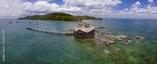 Ilha dos Frades in All Saints Island Bahia Brazil