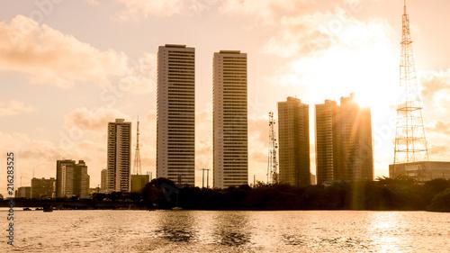 Fototapeta Beautiful building in Recife, Pernambuco.
