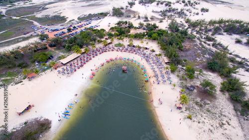Canvas Nice Lagoa de Pitangui, Natal, Rio Grande do Norte, Brazil