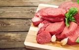 Fresh Raw Meat on desk - 216295160