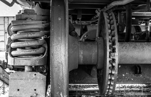 styl-industrialny-stara-maszyna