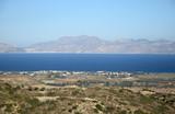 Blick von Kos nach Kalymnos