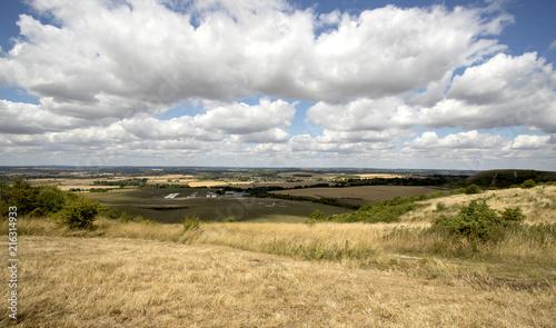 Canvas Lente Summer landscape