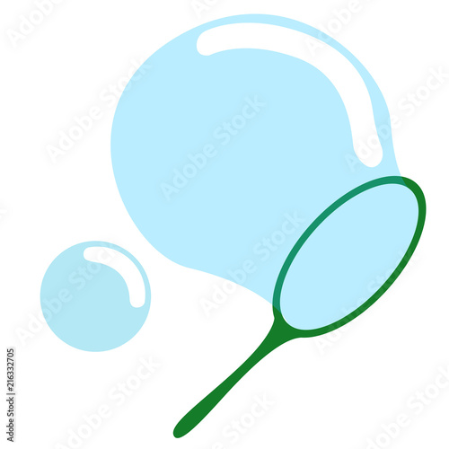Isolated bubble toy icon