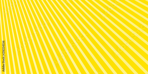 Fototapeta Bright Yellow Extra Wide Elegant Stripped Background Image