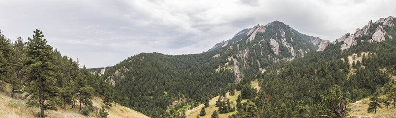 Panoramic View of the Rocky Mountains © Brooke