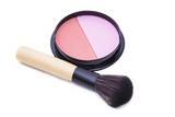 top view of makeup cosmetics set - 216364949