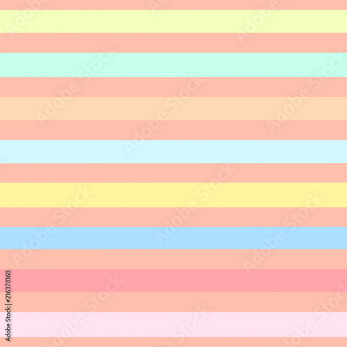 Seamless pattern of colorful stripes - 216378168