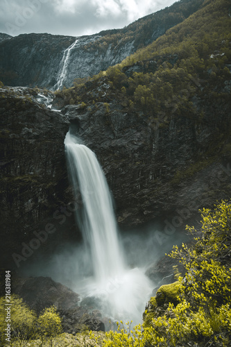 Norway waterfall - 216381984