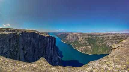 norwegen Kjeragbolten  © STEFAN-WB-SMU