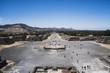 Teotihuacan Ciudad de Mexico aerial drone