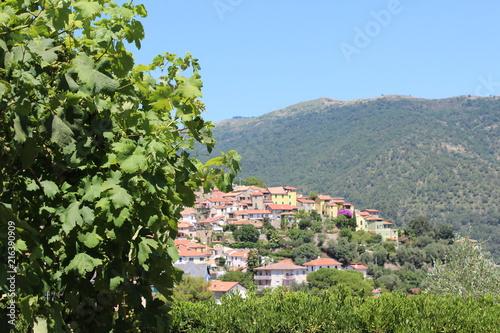 Fotobehang Liguria Italienisches Dorf