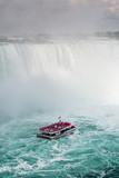 Boat at the Base of Niagara Falls