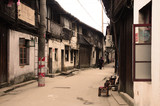 street, old, architecture, city, town, 乌镇
