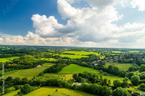Landscape in Aachen Brand - 216398546