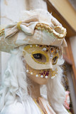 Mask in carniaval of Venice.