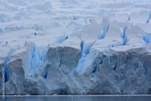 Foto Spatwand Antarctica Gletscher Antarktis