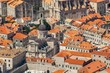 Leinwanddruck Bild - Old town in Europe on coast of Adriatic Sea. Dubrovnik. Croatia.