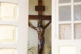 Sculpture of Jesus Christ carved in wood