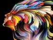 Leinwanddruck Bild - Quickening of Inner Palette