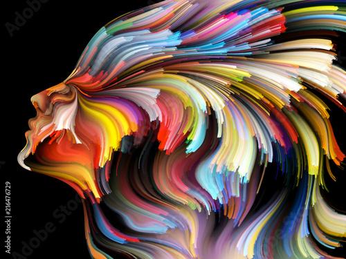 Fototapety, obrazy : Quickening of Inner Palette