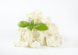crumbly white cheese - 216483189