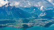 Alps panorama from Niederhorn - 216485315