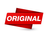 Original premium red tag sign - 216485587