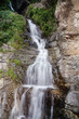 Small waterfall with plants and rocks in Rize, Turkey - 216518516