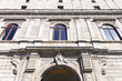 Quadro ROME, ITALY, on March 11, 2017. A facade of the old building in a historical part of the city.