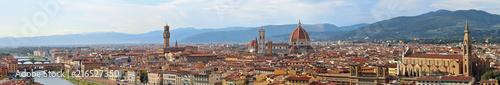 Fotobehang Toscane Florence Italy Panorama