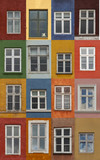 Colorful Copenhagen windows - 216531959