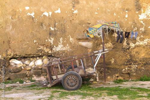 Empty cart, El Jadida, Morocco