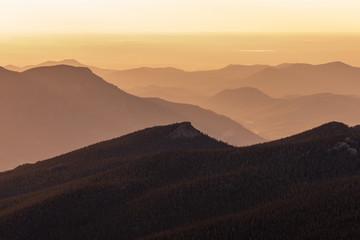 Scene Mountain Sunrise © natureguy