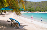 Idyllic beach at Caribbean - 216552910
