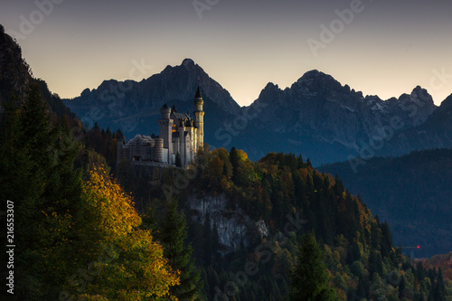 Bavarian landscapes in autumn