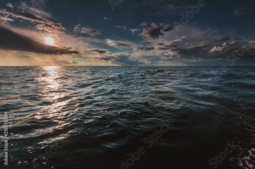 seascape sea horizon and sky. - 216555584