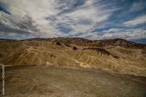 Canvas Route 66 Death Valley National Park