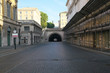 Rome,Italy-July 29,2018: Tunnel - Traforo Umberto in Rome