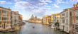 Venice panorama city skyline at Venice Grand Canal, Venice Italy