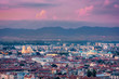 Beautiful aerial view over Sofia, the capital of Bulgaria - 216607948