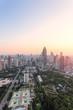 Quadro Skyline and cityscape of modern city
