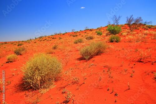Foto Spatwand Baksteen Australian hot deserts